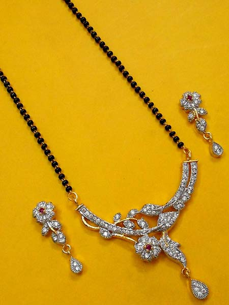 Diamond Mangalsutra Set