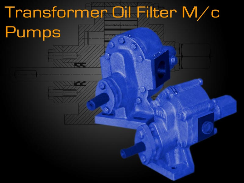 Oil Filter Machine Pumps