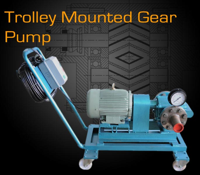 Trolley Mounted Pump Assembly