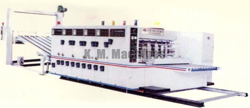 High Speed Water Based Ink Printing Slotting and Die Cutting Machine