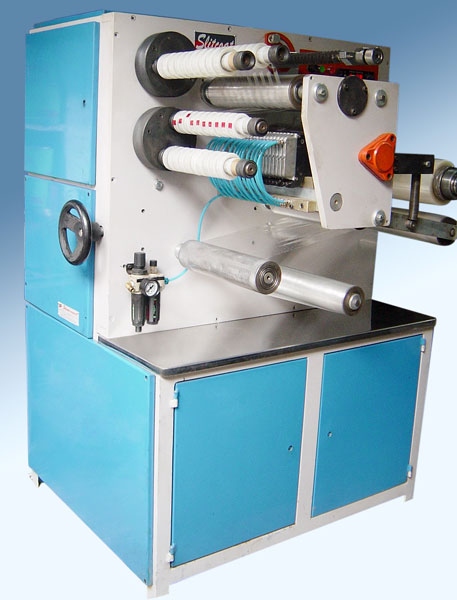 Easy Tear Mini Slitter Rewinding Machine
