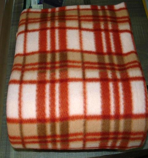 polar fleece blanket instructions