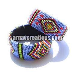 Beaded cuffs