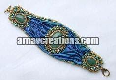 Embroidered Bracelets