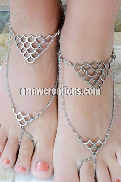 Metal Barefoot Sandals