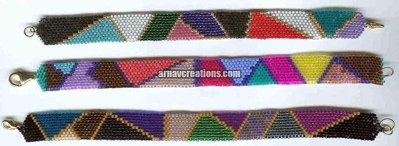 Beaded Peyote Bracelets