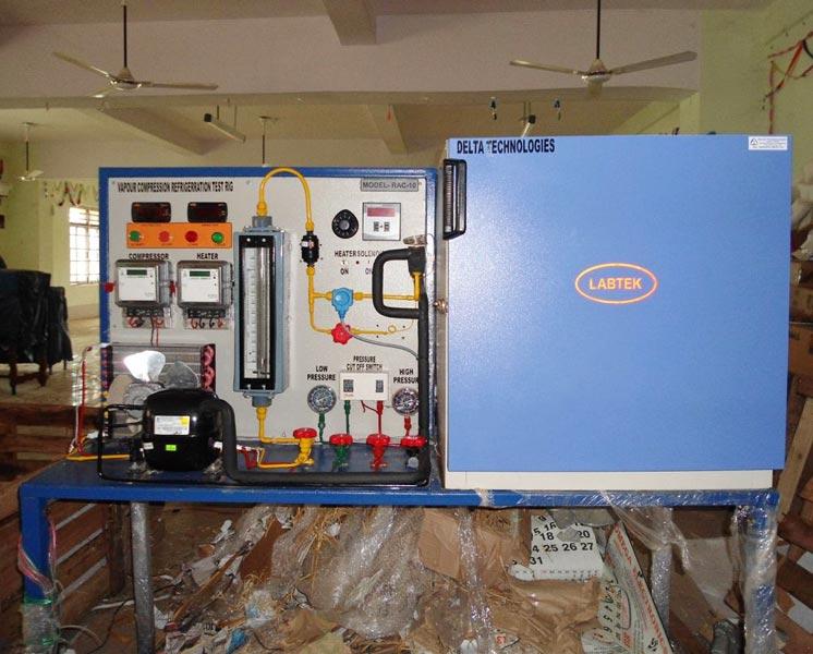 Refrigeration Test Rigs