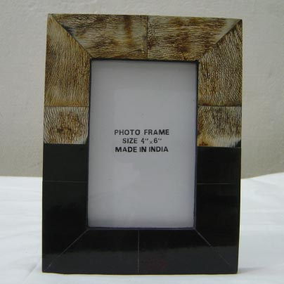 Horn & Bone Photo Frame 01
