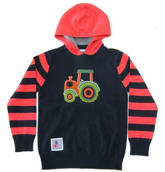 Kids Hooded Sweater