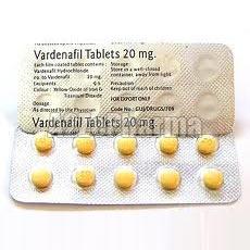Vardenafil Hydrochloride Tablets