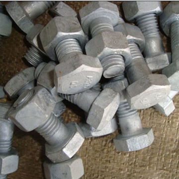Hot Dip Galvanised Hex Bolt With Nuts