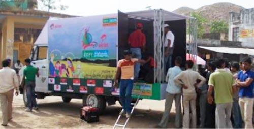 Retail strategy to enter rural india