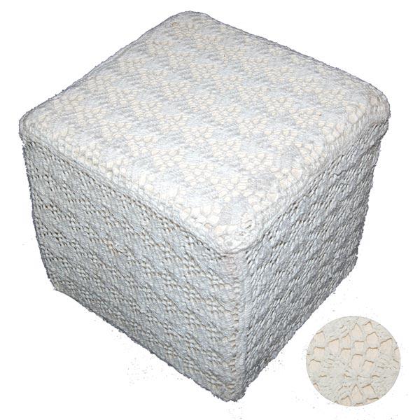 Crochet Pouf Cover