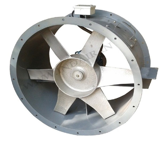 Axial Axial Blower Fans : Industrial axial blower flow fan manufacturers in