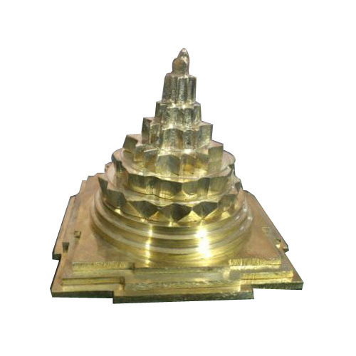 Brass Shri Yantra