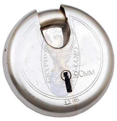 Round Pad Locks