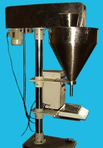 Weighmetric Powder Filling Machine