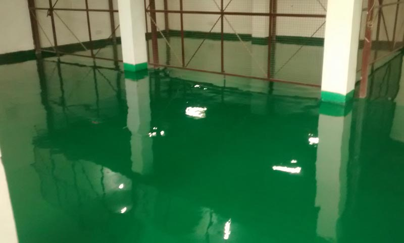 Epoxy Floor Self Levelling Top Coat