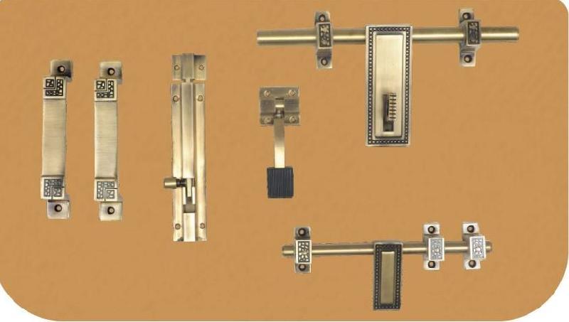 Aluminium Antique Door Kit 01