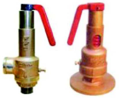 Bronze Spring Loaded Safety Valves