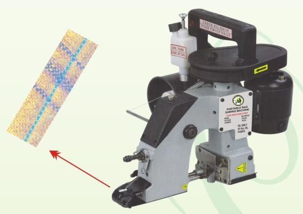 Portable Bag Closer Machine Single Thread
