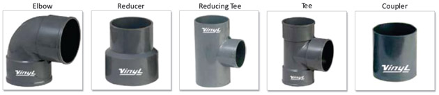 Vinyl UPVC Pipes Fittings