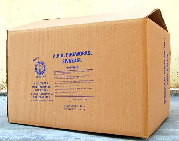 Slotted Carton With Top GY