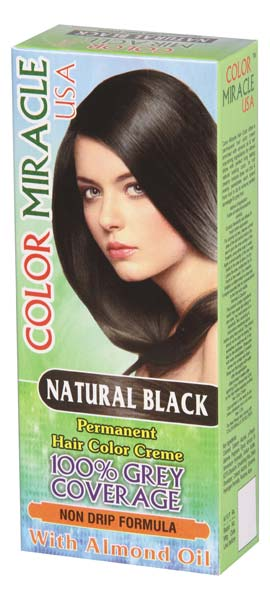 Miracle Permanent Hair Color Cream