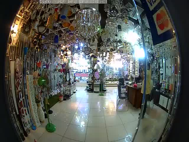 360 Fisheye Wireless IP Camera 04