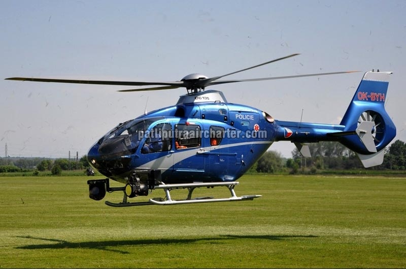 EC 135 Helicopter Charter