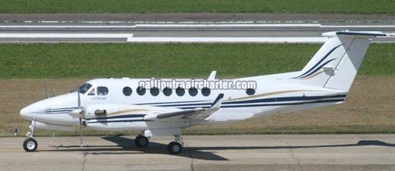 Super King Air 350 Aeroplane Charter