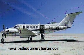 Super King Air B200 Aeroplane Charter