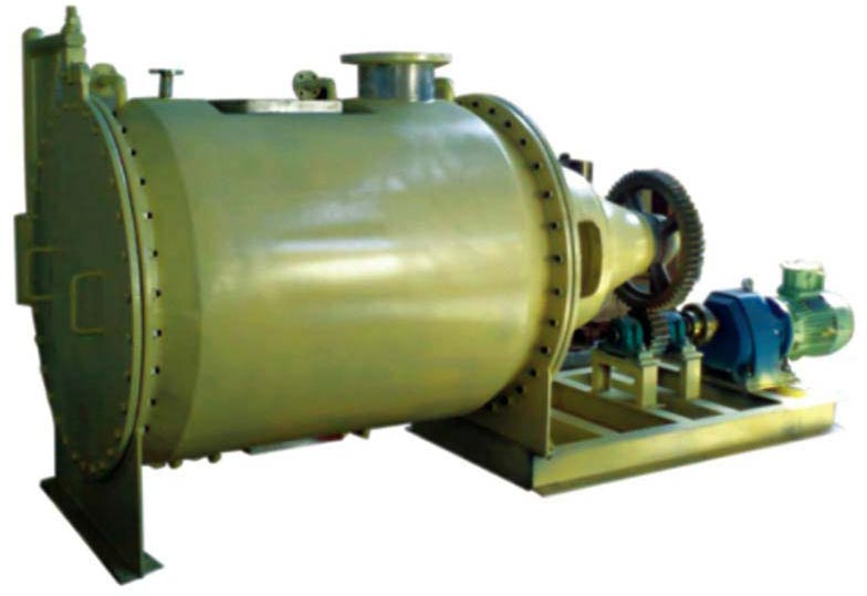 Agitated Cylindrical Vacuum Dryer