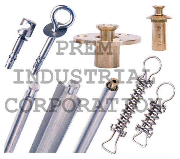 Brass Spring Anchors