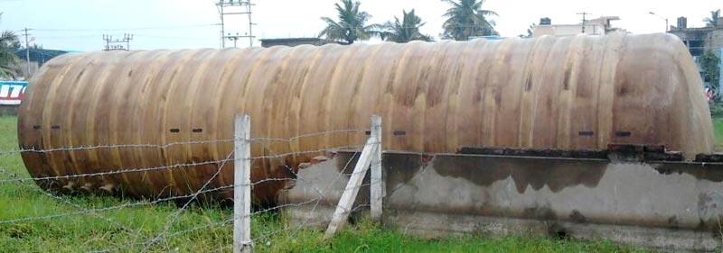 Fabricated Fuel Storage Tank