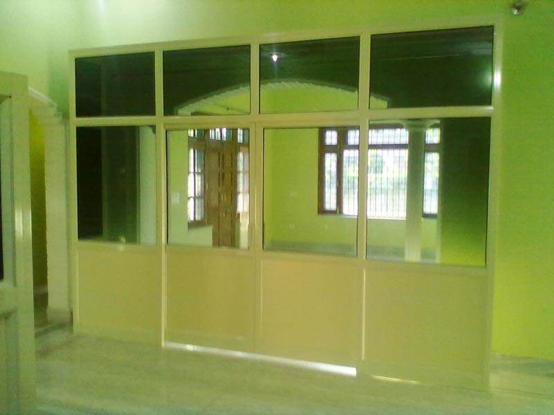 Aluminium Door Fabrication