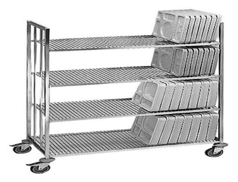 Stainless Steel 4 Layer Wire Shelf