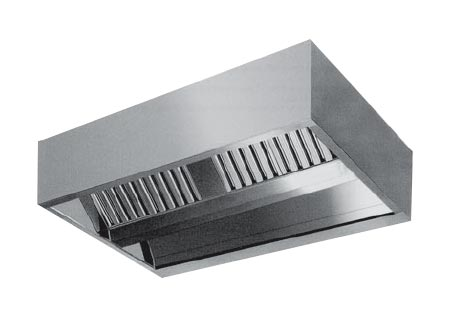 Stainless Steel Kitchen Exhaust Hoods