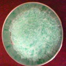 Ferrous Sulphate Crystals
