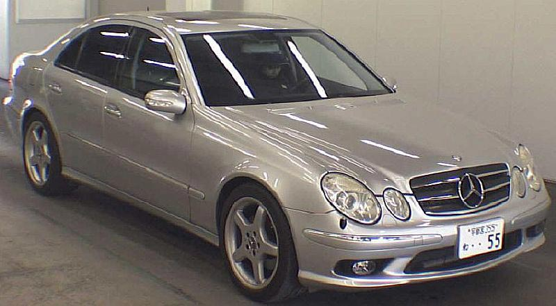 Used 2003 mercedes e500 lhd car mercedes benz e500 2003 for Mercedes benz e500 2003