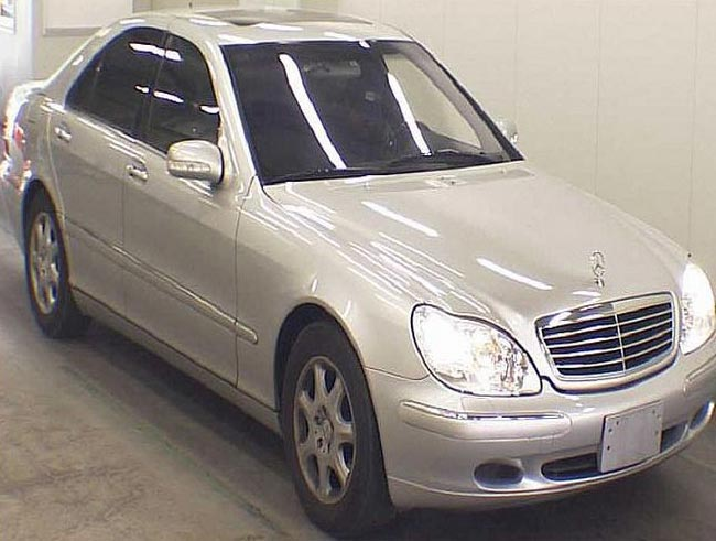 Used 2000 Mercedes S500 LHD Car (Silver)