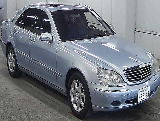 Used 2001 Mercedes S500 LHD Car (Sky Blue)