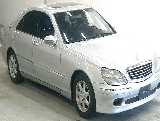 Used 2001 Mercedes S500 LHD Car (Silver)