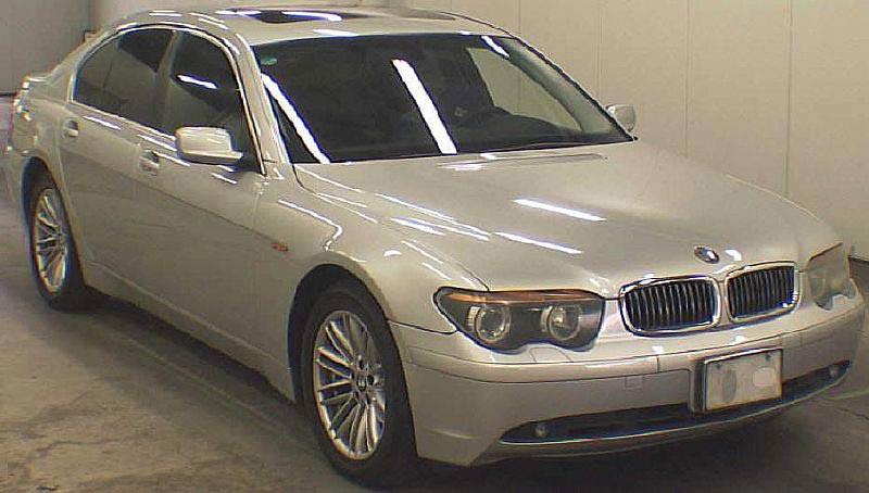 Used 2002 BMW 735I LHD Car