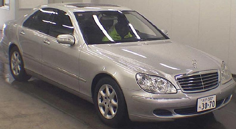 Used 2004 Mercedes S500 LHD Car