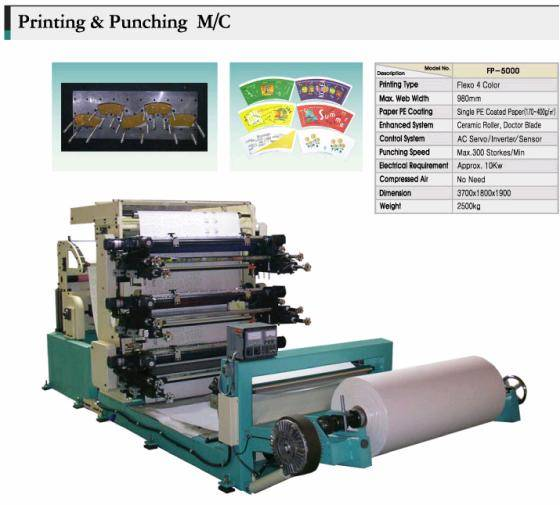 Prining & Punching Machine