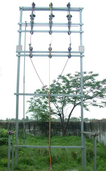 Double Pole Structure : Double pole structure manufacturer supplier in gujarat india
