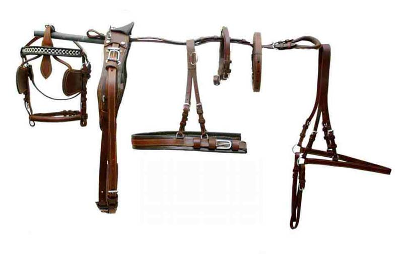 Leather Horse Harness Set