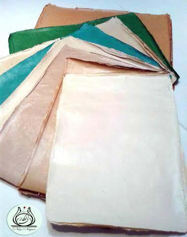 Arabic calligraphy paper