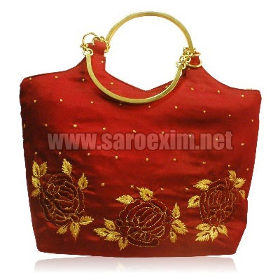 Metal Handle Handbags